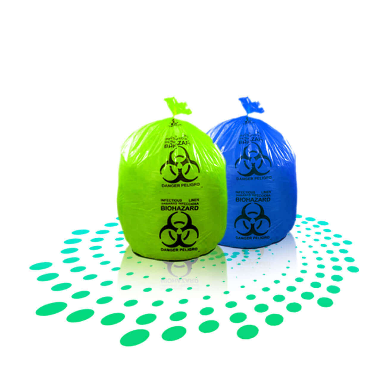 Biohazard bags medical waste bags manufacturer in uae super plast 100 biodegradable customized size customized micronthickness customized colour high load bearing strength customized printing biocorpaavc